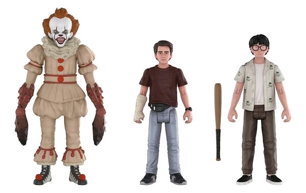 It (2017): Action Figure 3-Pack - Set #3