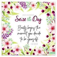 Seize the Day 2019 Desk Calendar