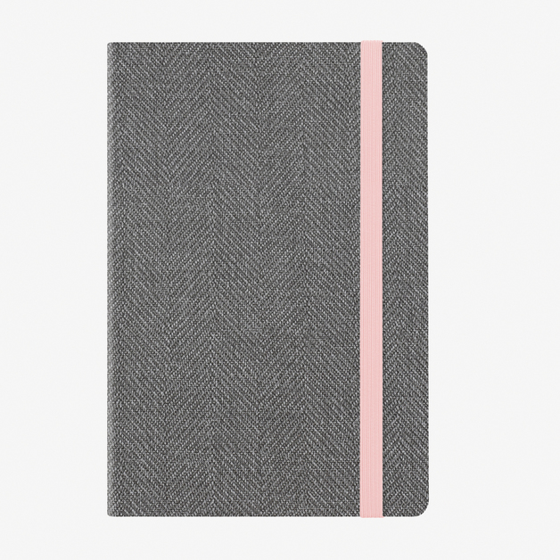 Legami: Large Weekly & Daily 12 Month 2020 Diary - Grey Tweed