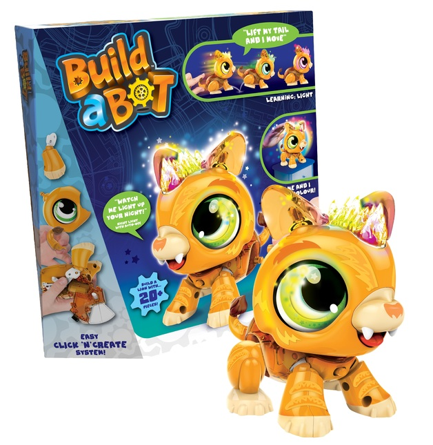 Build-a-Bot: Robot Pet - Lion Cub