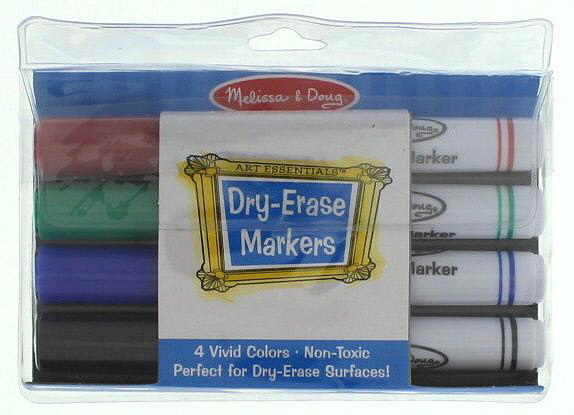 Dry-Erase Marker Set - Melissa & Doug image