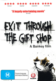 Exit Through the Gift Shop on DVD