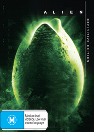 Alien - Definitive Edition on DVD