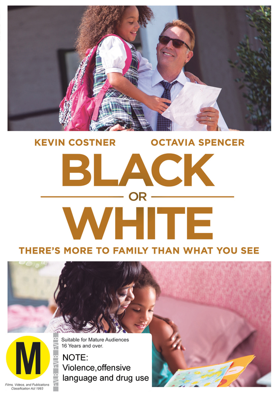Black Or White on DVD