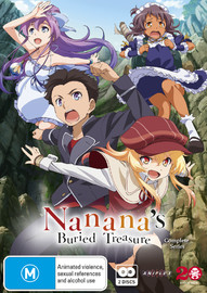 Nanana's Buried Treasure Complete Series (Subtitled Edition) on DVD
