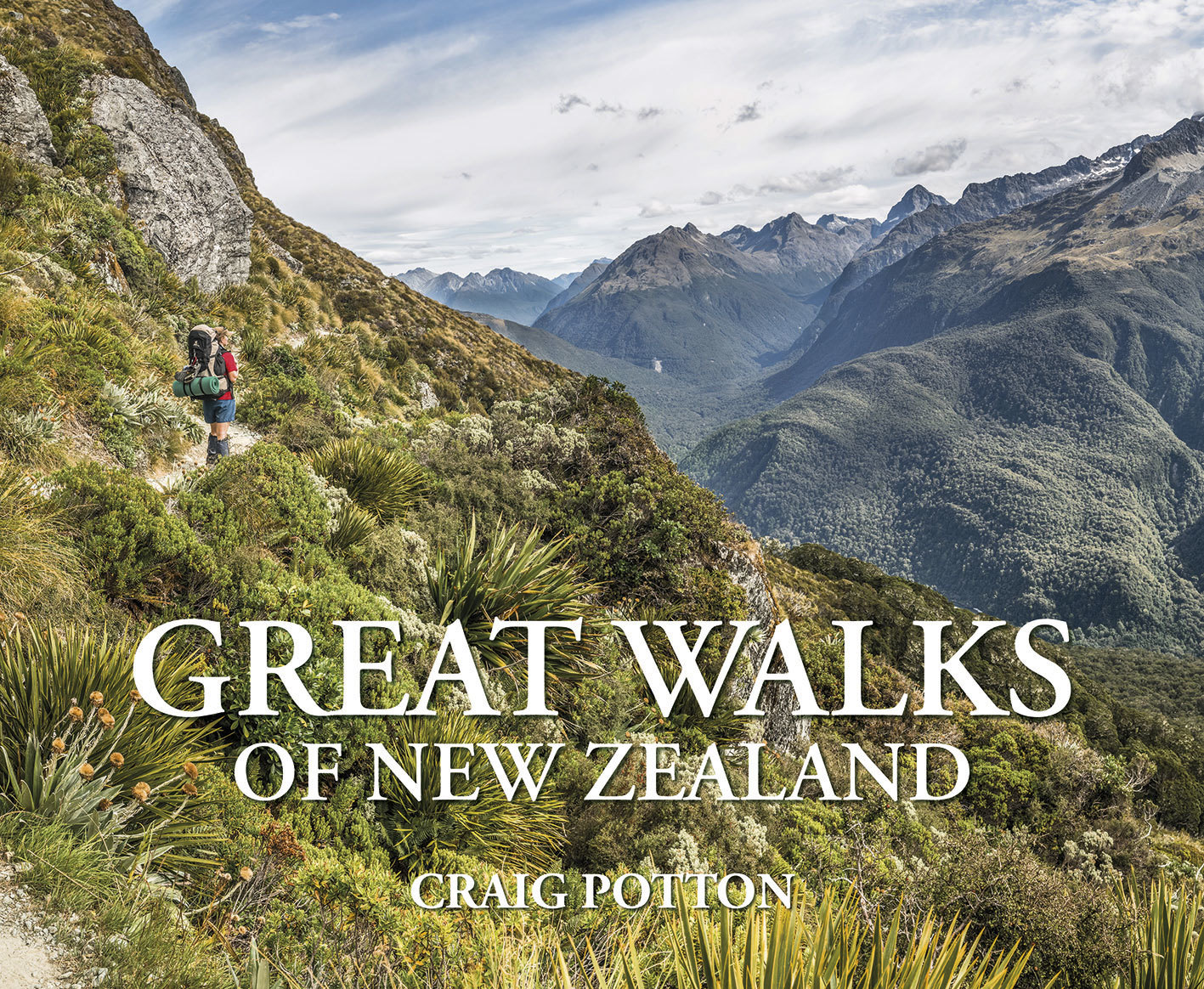 Great Walks of New Zealand by Craig Potton image