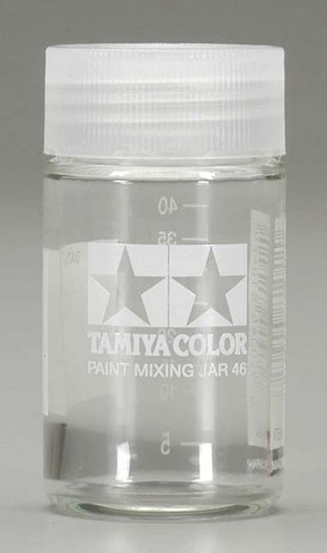 Tamiya Paint Mixing Jar 46ml with Measure