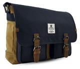 Rutherford Messenger Bag - Camel & Navy
