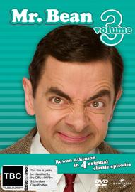 Mr. Bean - Volume 3 on DVD image
