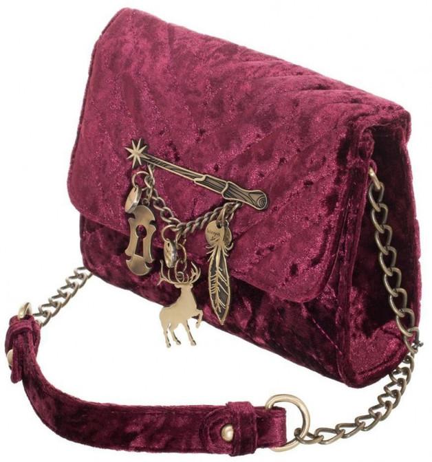 Harry Potter Spells Quilted Sidekick Crossbody Bag