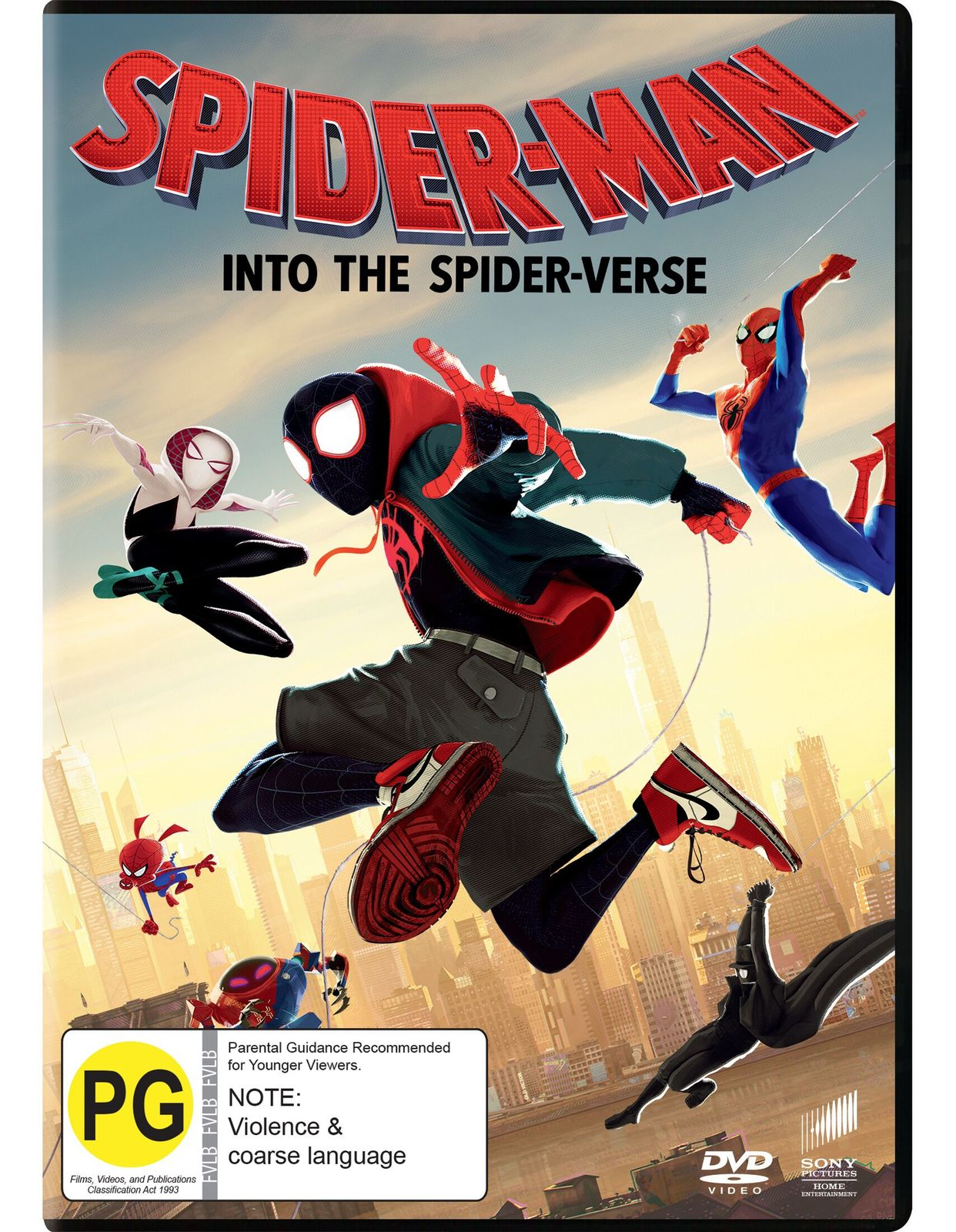 Spider-Man: Into the Spider-Verse on DVD image
