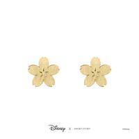Short Story: Disney Earring Mulan Sakura - Gold
