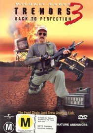 Tremors 3 - Back To Perfection on DVD image