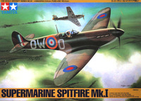 Tamiya British Supermarine Spitfire Mk.I 1/48 Aircraft Model Kit