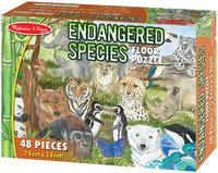 Melissa & Doug: Endangered Species Floor Puzzle