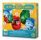 Step Ups! 4-In-A-Box Puzzles - Colours