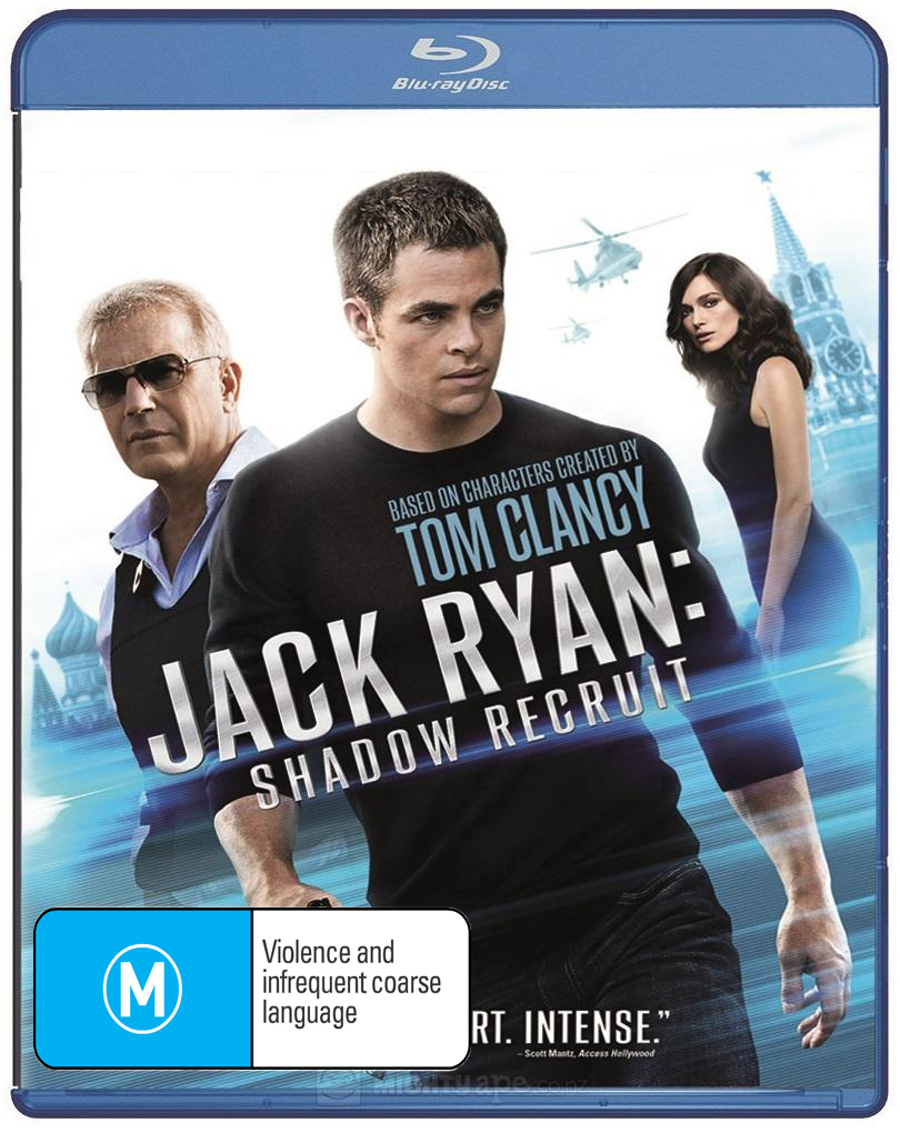 Jack Ryan: Shadow Recruit on Blu-ray image