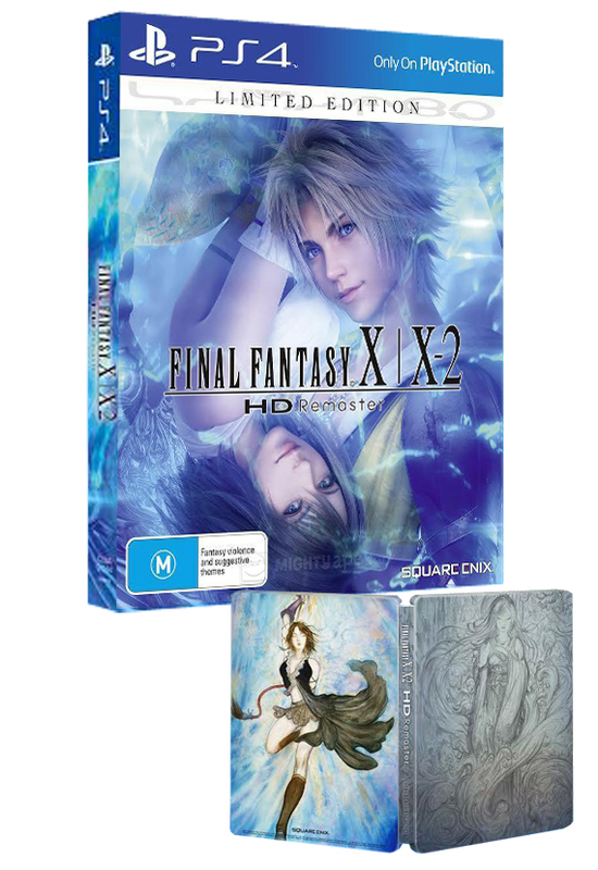Collectorsedition. Org » final fantasy x/x-2 hd remaster limited.