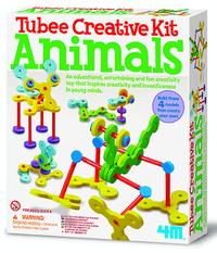4M: Craft - Tubee Creative Kit Animals