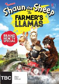 Shaun the Sheep: The Farmer's Llamas on DVD