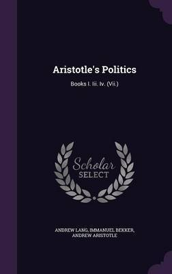 Aristotle's Politics by Andrew Lang image