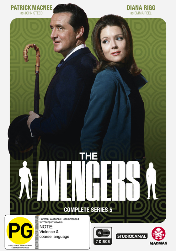The Avengers - Complete Series 5 on DVD