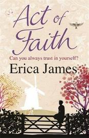 Act of Faith by Erica James image
