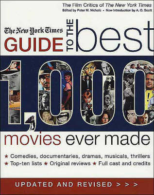 "New York Times Guide 1000 Movies by ""New York Times"" image"