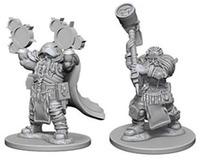 D&D Nolzurs Marvelous: Unpainted Minis - Dwarf Male Cleric