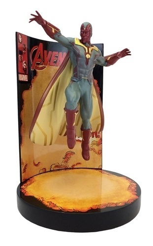 Marvel: Behold the Vision - Premium Motion Statue