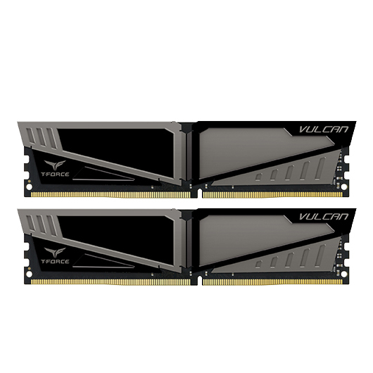 2x8GB T-Force Vulcan - Grey 2400Mhz DDR4 RAM