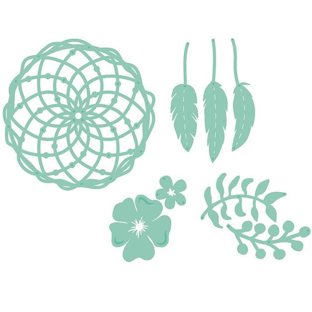 Kaisercraft: Decorative Die - Floral Dream Catcher