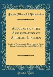 Accounts of the Assassination of Abraham Lincoln by Lincoln Financial Foundation image