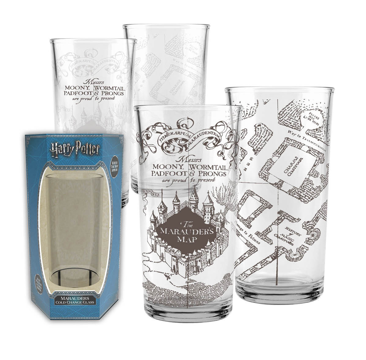 Harry Potter: Marauders Map Cold Change Glass image