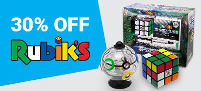 30% off Rubiks!