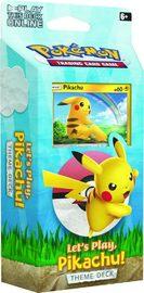 Pokemon TCG: Sun & Moon - Let's Play Theme Deck (Pikachu)
