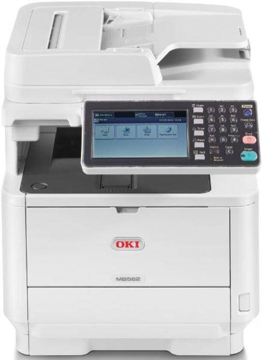 OKI MB562DNW 45ppm Mono LED Multi Function Printer