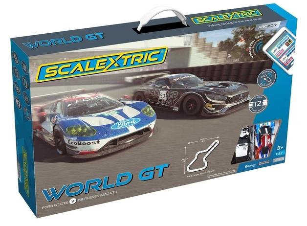Scalextric: ARC AIR (World GT) - Slot Car Set