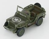 Hobby Master: 1/48 Willys Jeep MB 101st Airborne Division, WWII - Diecast Model