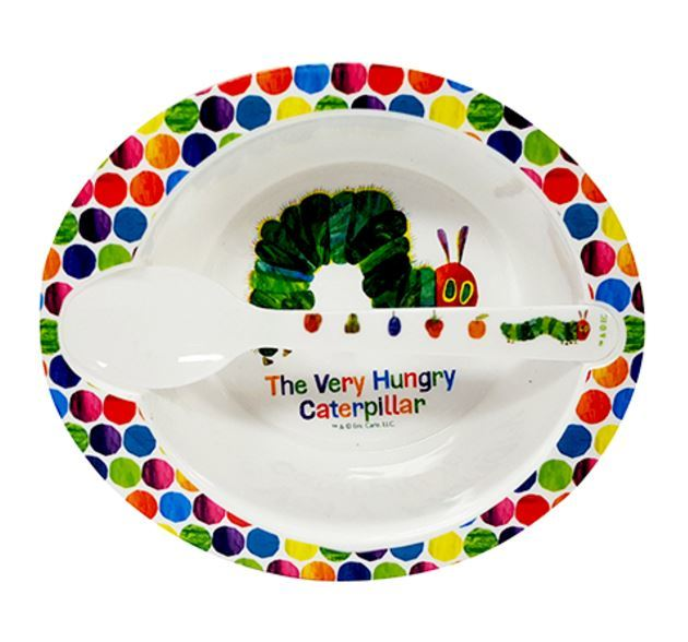 Very Hungry Caterpillar - Bowl & Spoon image