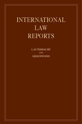 International Law Reports: Volume 126