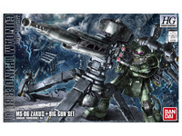 1/144 HGUC: Zaku II + Big Gun (Thunderbolt Anime Ver.) - Model Kit