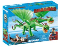 Playmobil: How to Train Your Dragon - Ruffnut, Tuffnut, Barf & Belch (9458)