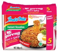 Indomie Hot & Spicy Noodles 80g 5pk