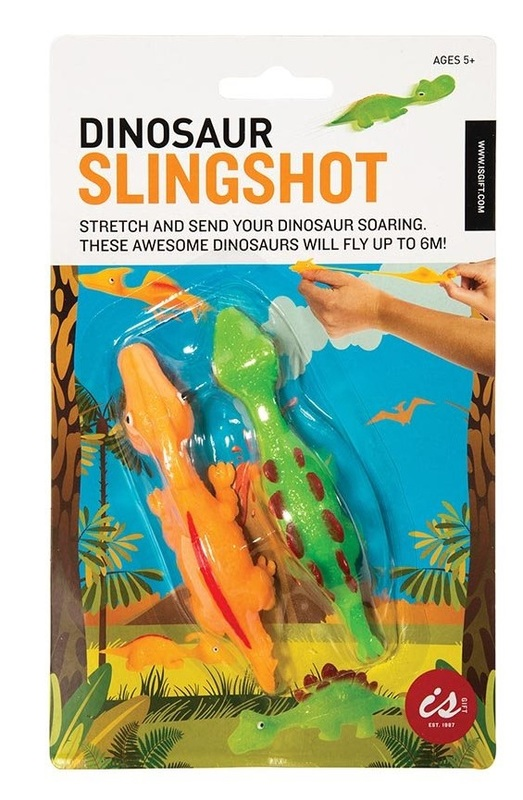 IS Gifts: Slingshot Dinosaur - Set of 2 (Assorted Designs)