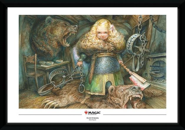 Magic The Gathering: Flaxen Intruder - Collector Print (50x70cm)