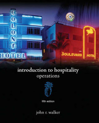 Introduction to Hospitality by John R Walker image
