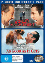 Anger Management / As Good As It Gets - 2 Movie Collector's Pack (2 Disc Set) on DVD