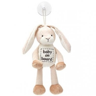 Diinglisar - Baby On Board Rabbit image