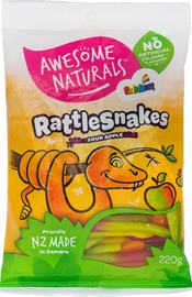 Awesome Naturals - Rattlesnakes (220g)